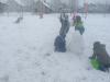 Učenci 1. razredov na snegu