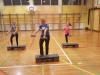 Uživajmo v zdravju - delavnice z učenci in s starši -  step aerobika